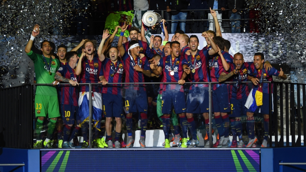 A Fifth Champions League Trophy And The Perfect Send Off For Xavi Getty Images