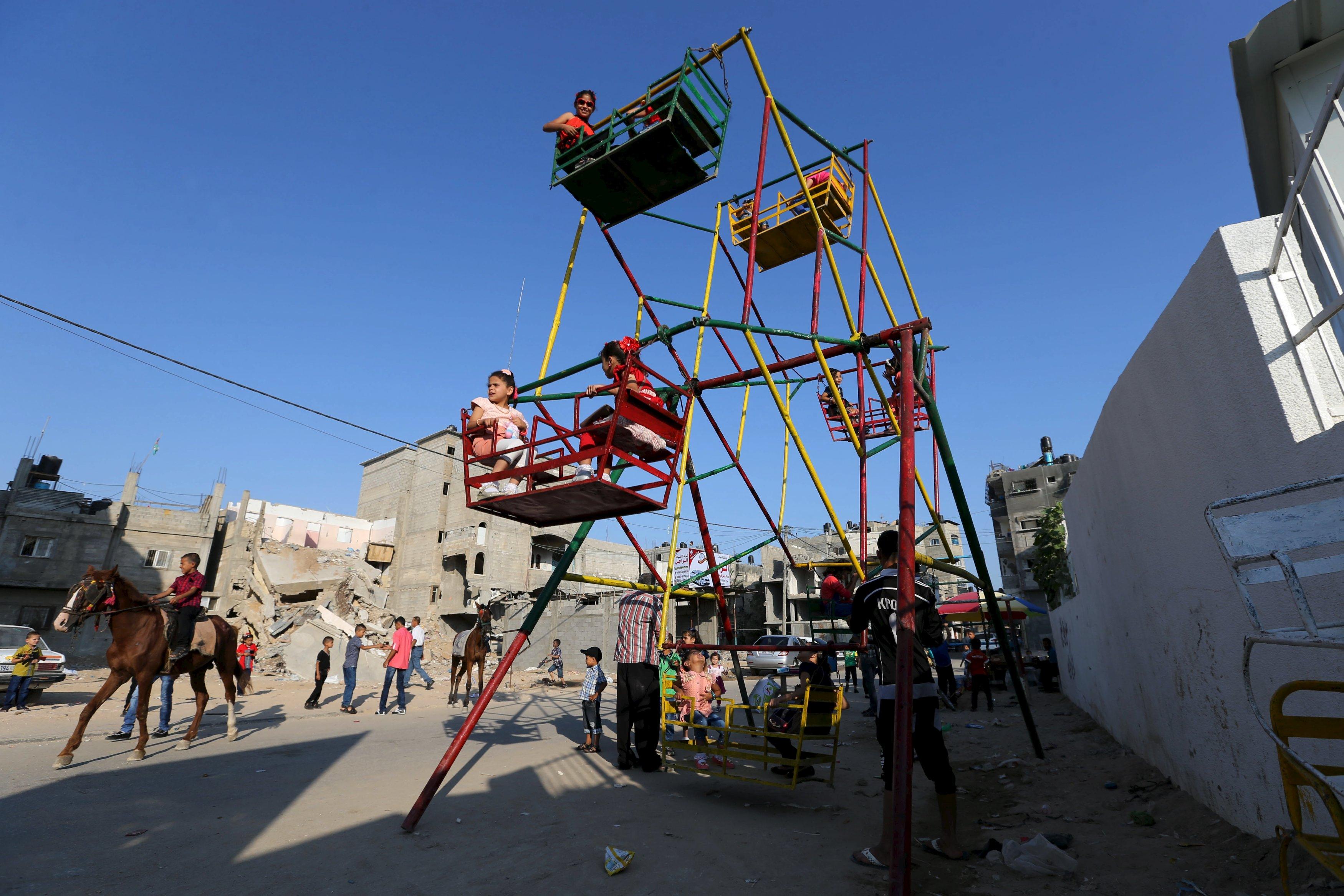 Idul Fitri di Gaza