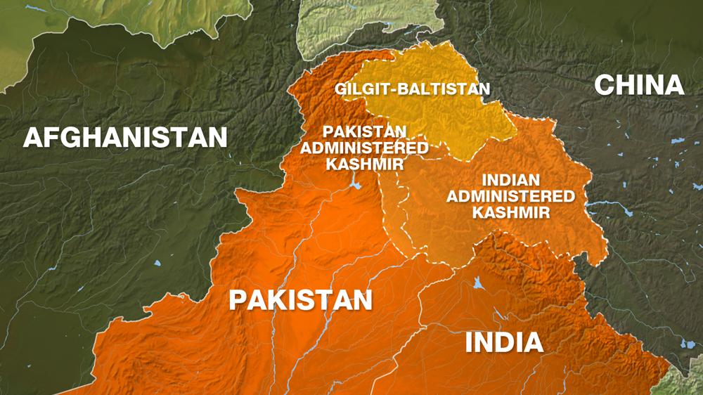 Gilgit-Baltistan borders China, Afghanistan and Kashmir [Al Jazeera]