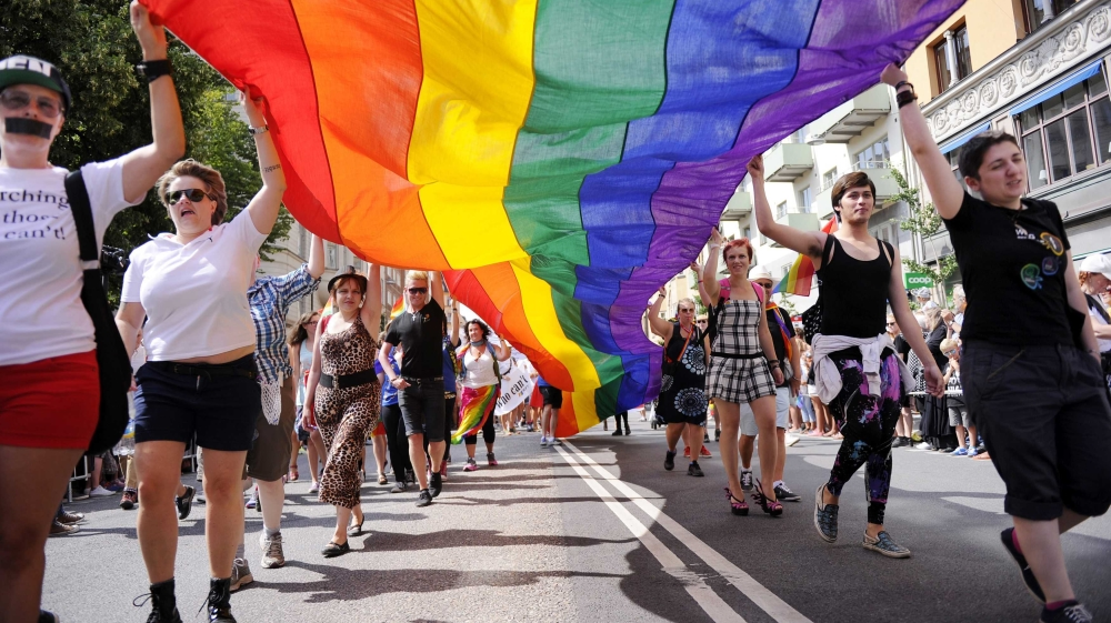 Sometimes I am not sure if Europe is lala land or just the reality check (counter balance) we need.....? Sweden far-right plans gay parade in mainly Muslim area