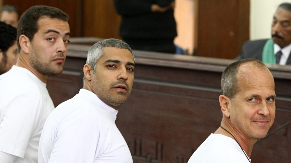 Image result for Al Jazeera condemns Egypt verdict