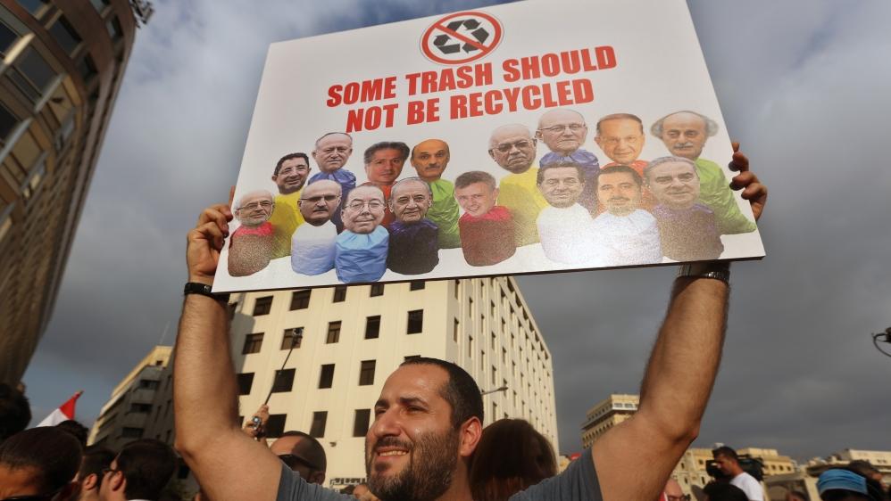 Cabinet members storm out of Lebanon trash-crisis talks | Lebanon ...