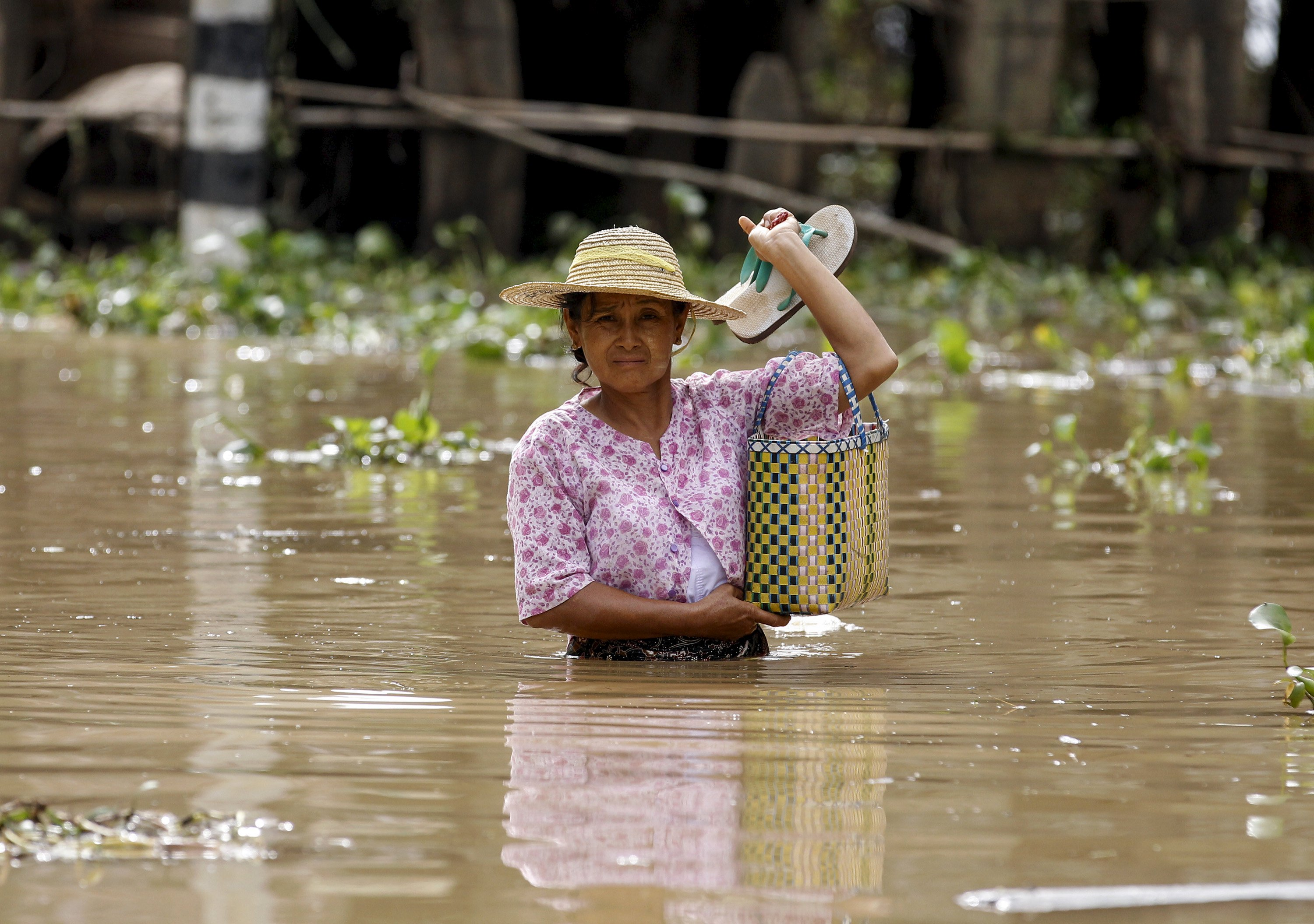 Myanmar inundated by floods al jazeera heavy rains have caused flooding of rice field and in about a hundred villages altavistaventures Image collections