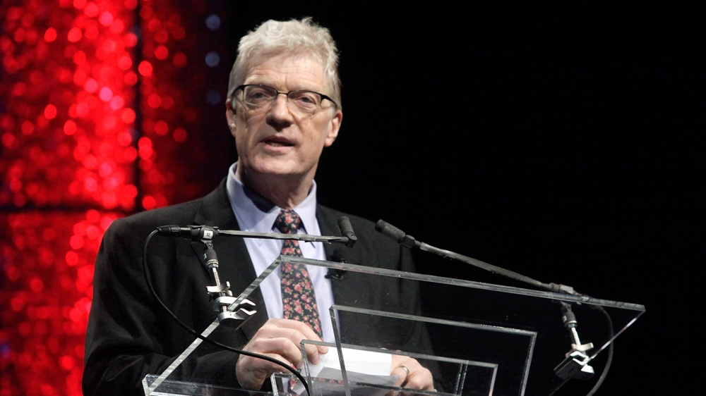 ted talk ken robinson In this incredible and famous ted talk by sir ken robinson, he points out to the ways the public school system around the world is busy killing creativity.