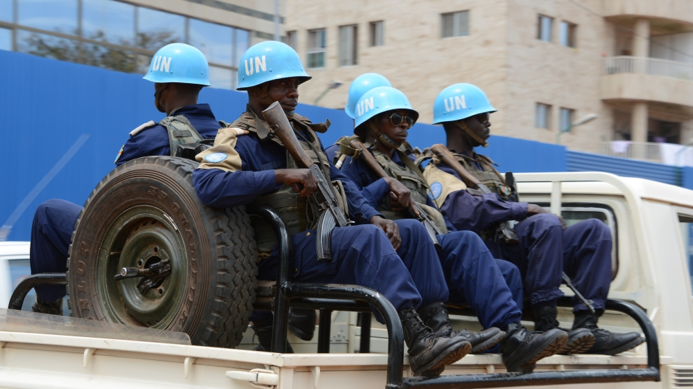 Three Congolese peacekeepers appear before tribunal in first prosecutions for sex abuse crimes in the CAR.