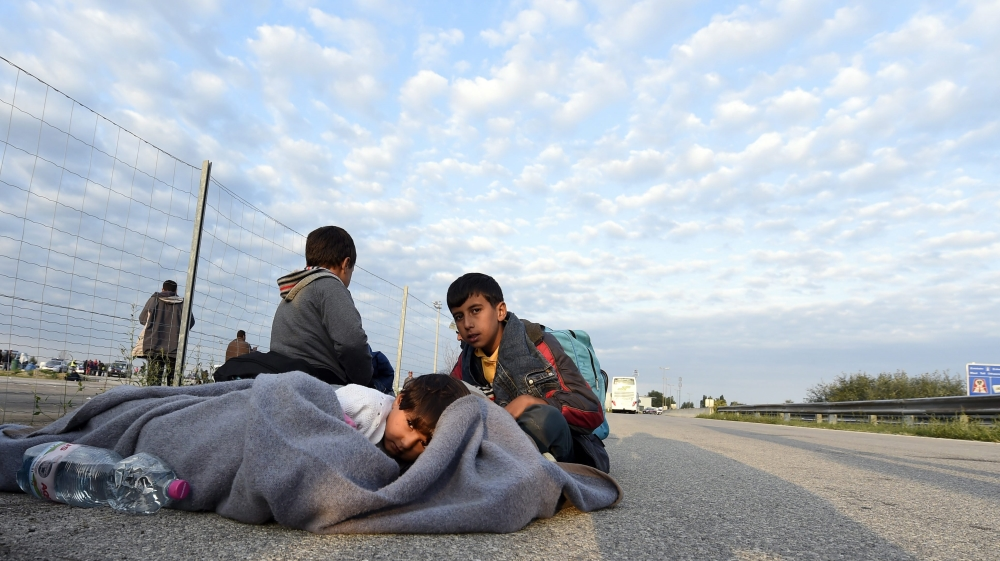 Weary refugees keep surging through EU borders