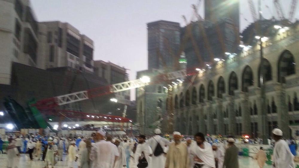 Crane collapse kills at least 107 in Mecca Grand Mosque