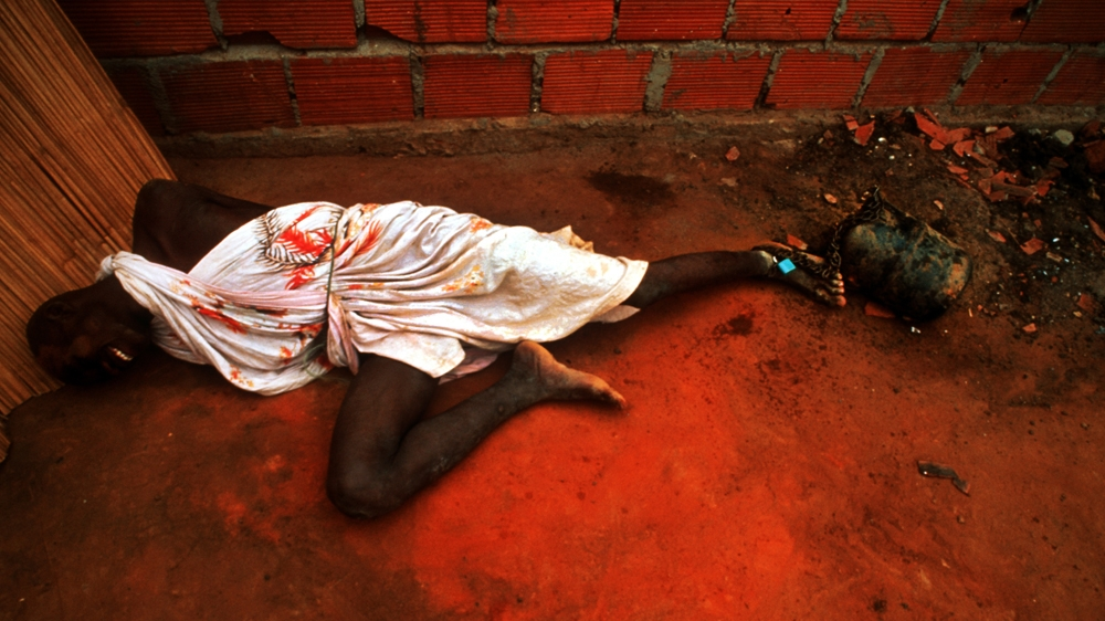 A Former Combatant In Angola S Long Running Civil War Is Chained To An Engine Block In A Mental Hospital In Luanda Angola He Was One Of Scores Chained To
