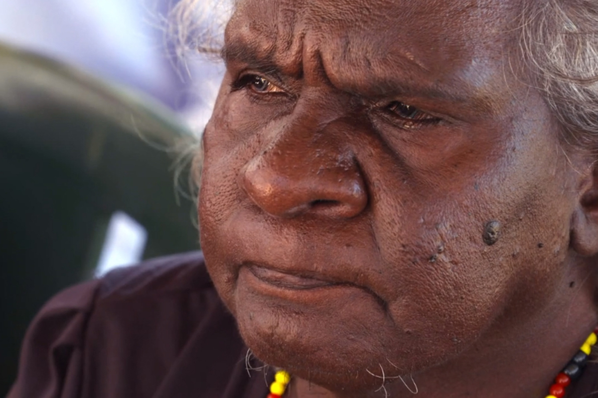An Aboriginal elder at the opening of the new $15m headquarters of the Kimberley Land Council - an Aboriginal rights group - in Broome. Many elders remember the late 1960s when white pastoralists were forced to pay Aboriginal workers the minimum wage, but instead sacked them and dumped them en masse on the edge of towns without work. To escape the alcohol and violence of the towns many moved back to their ancestral lands to establish remote villages. [Evan Williams/Al Jazeera]