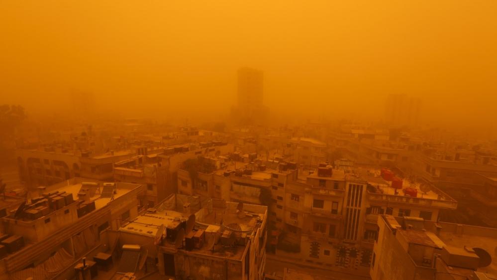 Unprecedented Sandstorm Envelops Lebanon And Syria