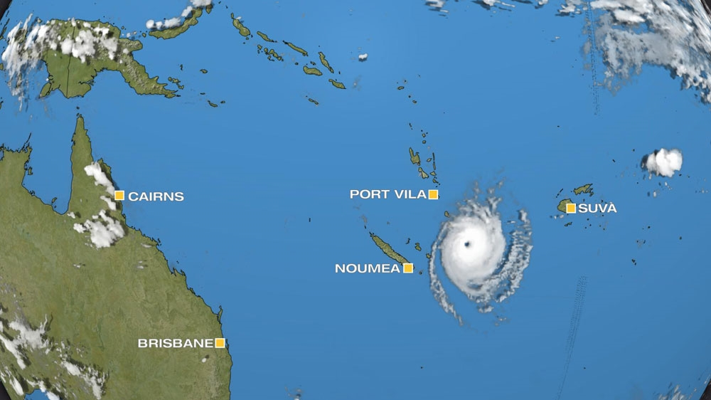 Tropical Cyclone Ula Roars Towards Vanuatu News Al Jazeera - Where is vanuatu