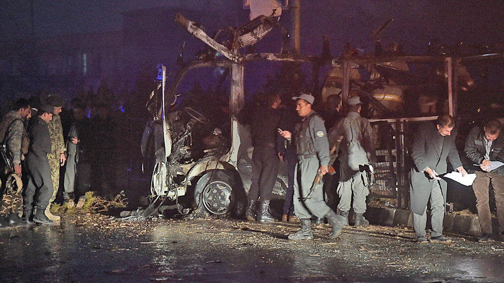 Taliban suicide attack in Kabul kills TV station staff