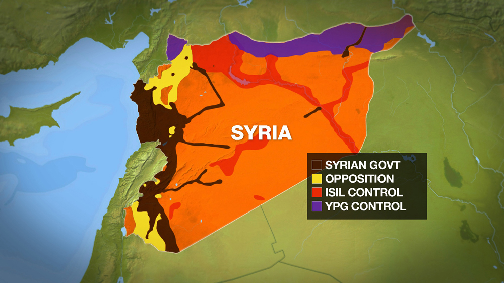 Syrian Army Seizes Aleppo Takes Aim At ISIL In Raqqa News Al - Map of area that us forces control in syria