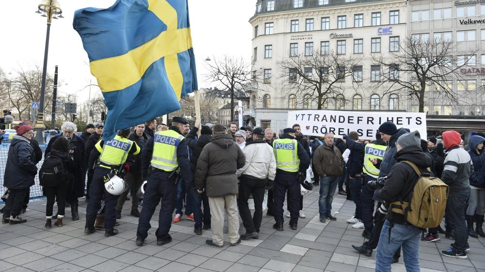 Image result for refugees in sweden