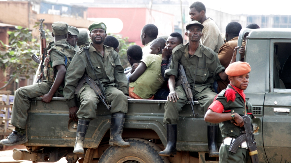 At least eight civilians shot dead in the crossfire in eastern Beni town after insurgents were engaged by DRC troops.