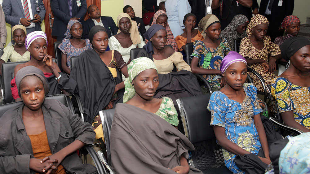 Government rejects reports it traded armed group's prisoners for 21 girls abducted in 2014 from the town of Chibok.