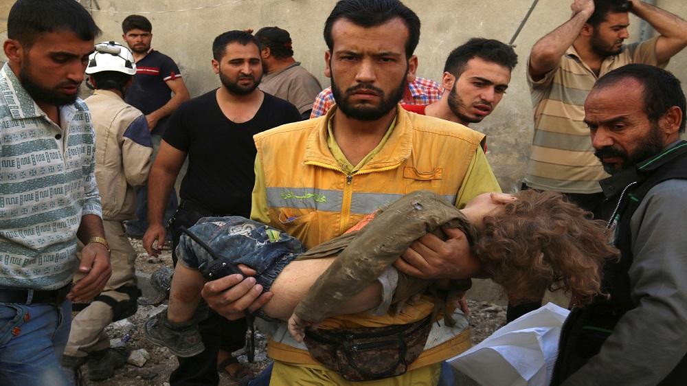 Syria: Aleppo attack