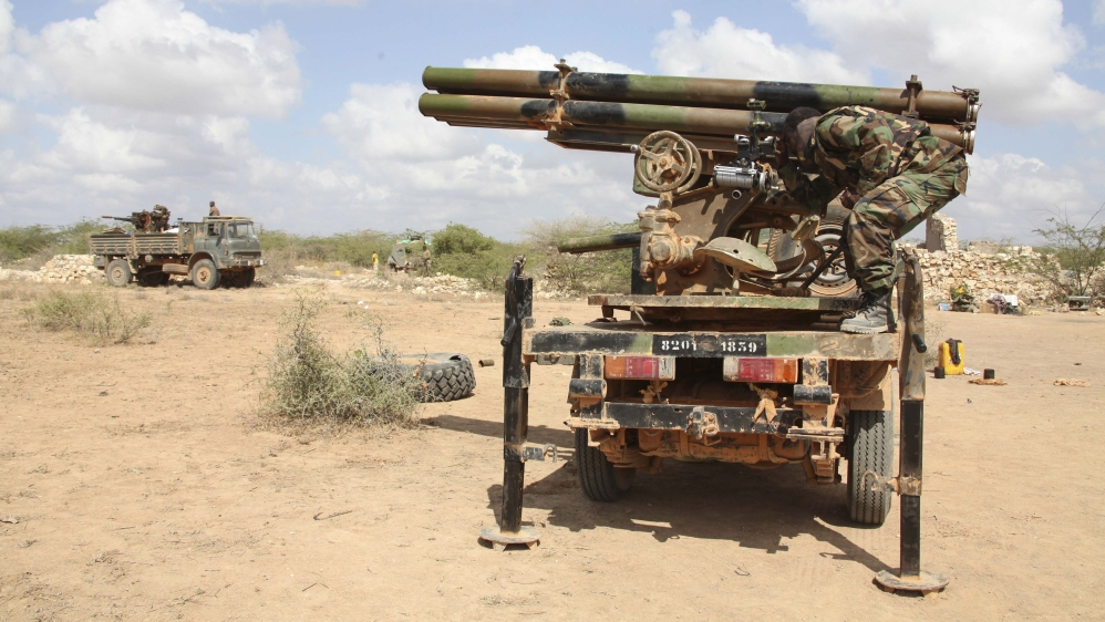 """Suicide bombing of """"Djiboutian military base"""" in central Beledweyne region is latest in a campaign of deadly attacks."""