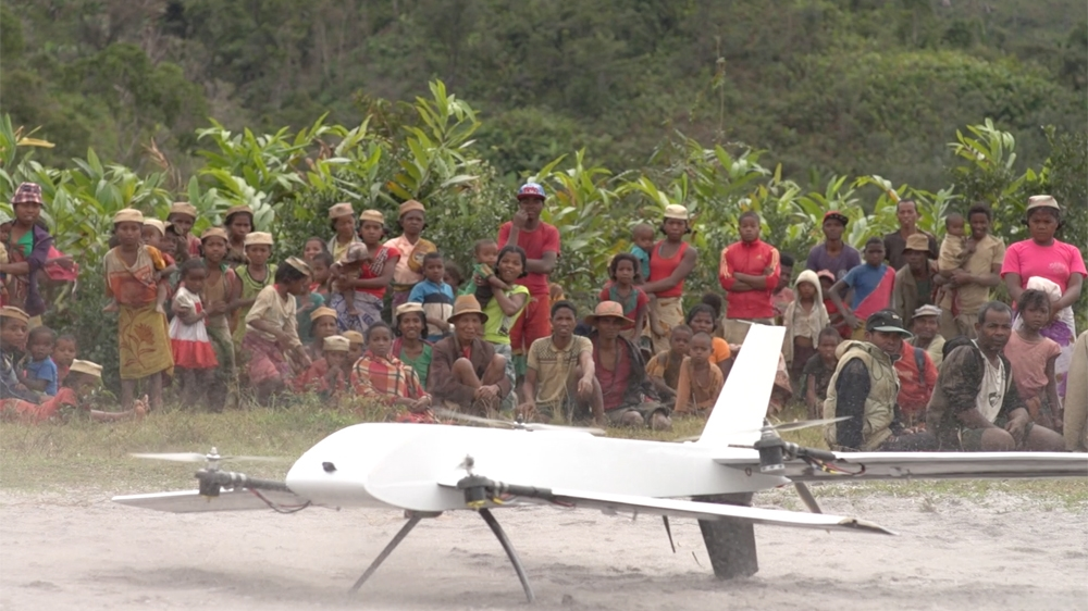 New project aims to enable villagers to diagnose and treat conditions via drone-delivered test samples and vaccines.