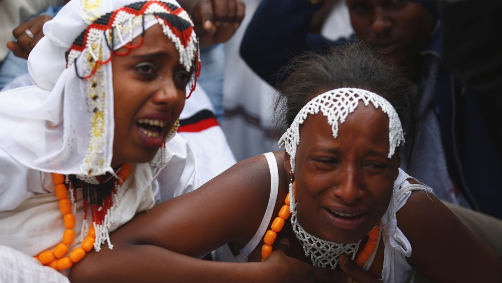 Protests continue in Oromia after 52 people killed in a stampede after police fired tear gas and warning shots.