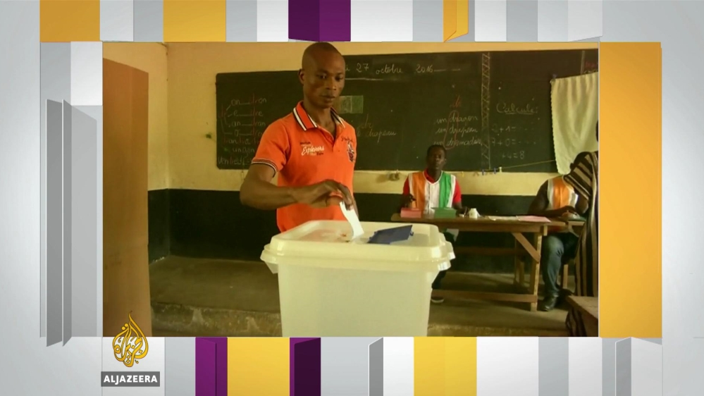 Voters in Ivory Coast are casting a ballot in a referendum on Sunday to approve a new constitution.