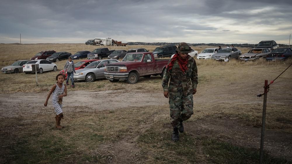 Life on the Pine Ridge Native American reservation   USA