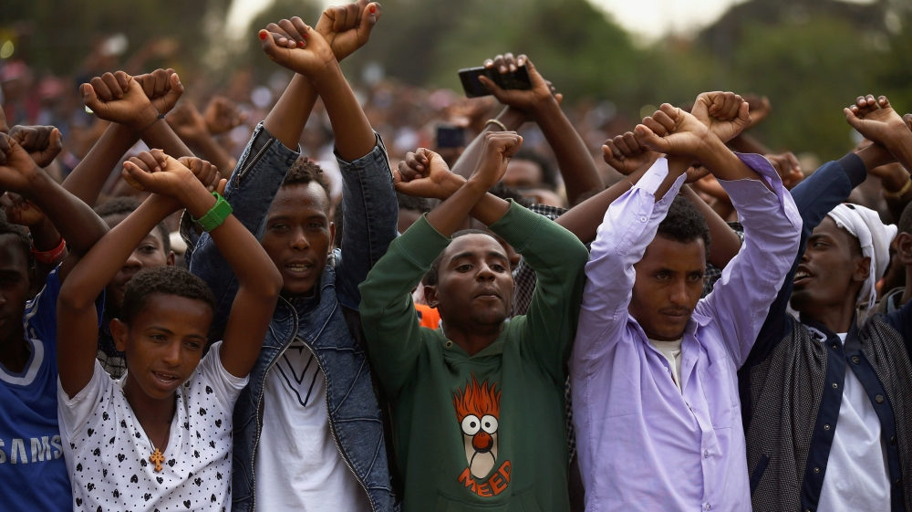 World's third worst jailer of journalists detains notable critic after days of deadly protests in Oromia and Amhara.
