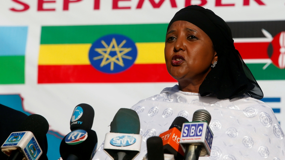 Amina Mohamed responds to questions on ethnic Somalis facing discrimination in Kenya, and the war against al-Shabab.