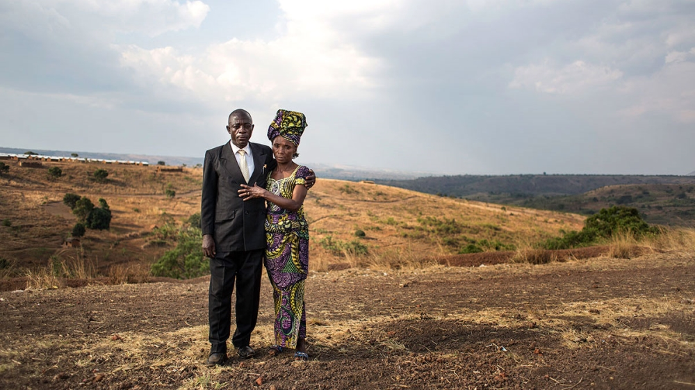 They have fled their homes and lost loved ones to conflict, but for 46 Congolese couples there is a reason to celebrate.