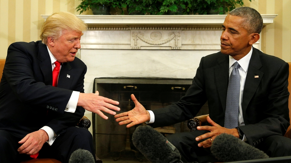 Trump demands Obama testimony in probe of Russia investigation thumbnail