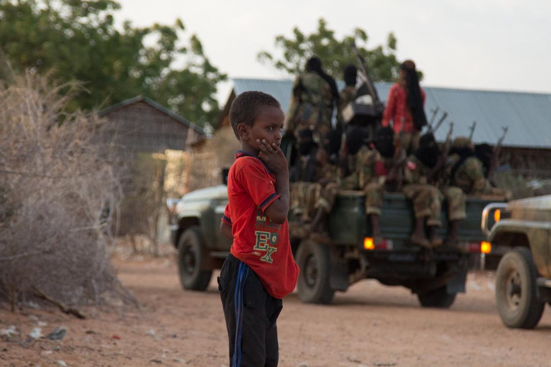 索马里青年党(al-Shabab)训练营 - wuwei1101 - 西花社