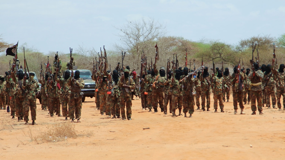 At least 10 killed after residents take up arms against fighters for trying to impose tax in central Galmudug region.