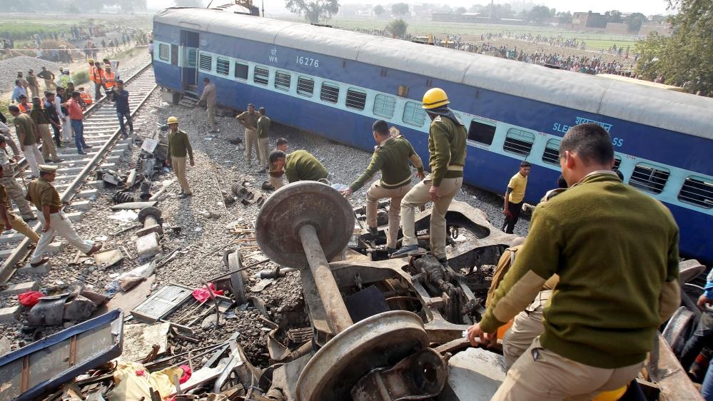 Over 100 people killed in India train derailment | India