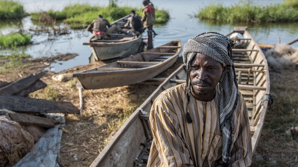 Refugees displaced by Boko Haram take on new life of fishing, but fear all will be lost as Lake Chad slowly disappears.