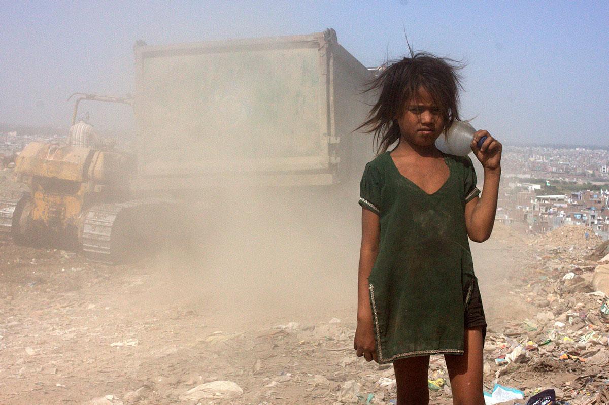 新德里的垃圾灾难 - wuwei1101 - 西花社