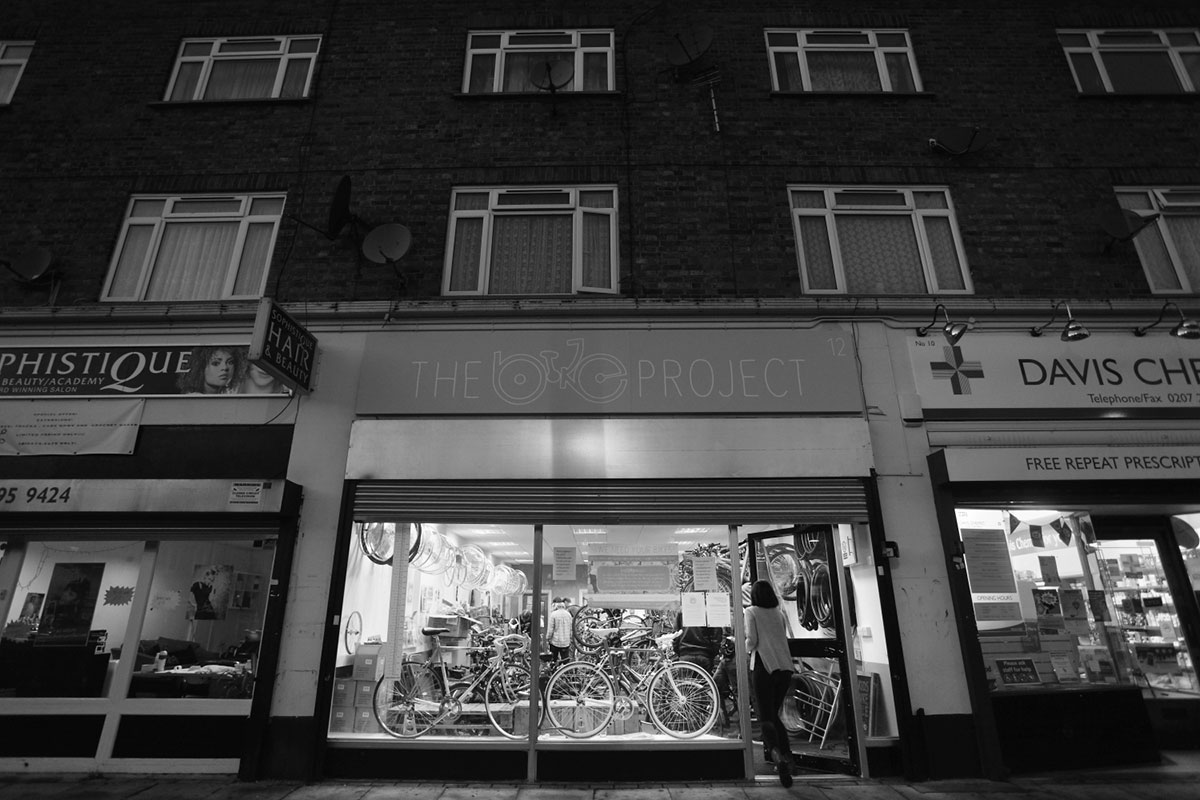 'The Bike Project' was officially launched in a small workshop in Hackney in 2013. The following year the project moved to its current location in Denmark Hill, South London. [Rich Wiles/Al Jazeera]