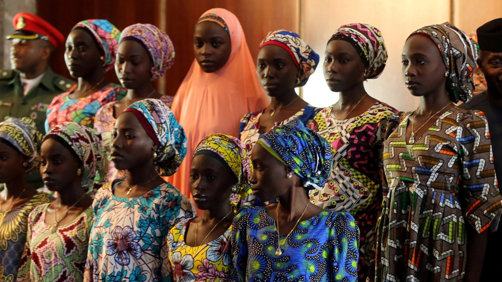 Nigerian troops find one of the missing Chibok girls seized by Boko Haram in 2014, weeks after the release of 21 others.