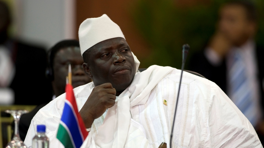"Jammeh, who had conceded defeat last week, changes his position, demanding new polls due to ""serious abnormalities""."