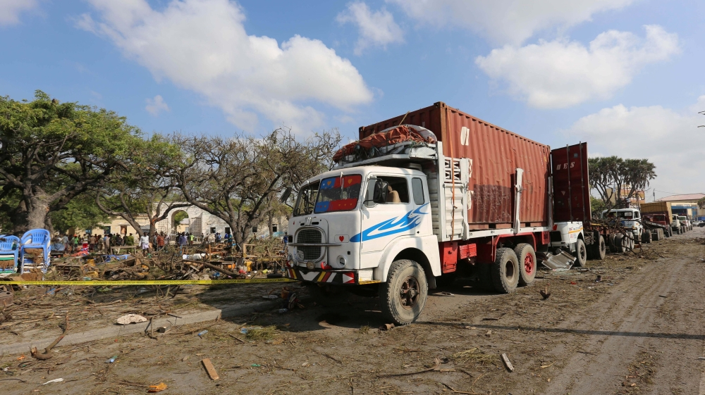 Al-Shabab attack at Mogadishu port kills dozens