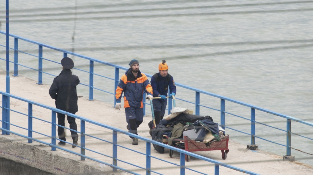 Military plane crashes into Black Sea near Sochi | Russia News | Al ...