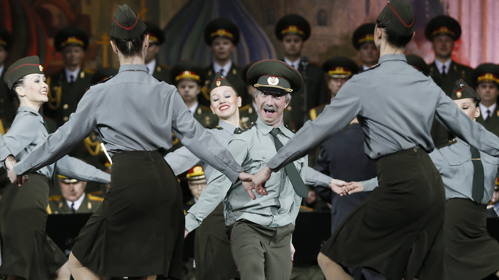 Alexandrov Russian Army Song and Dance Ensemble loss