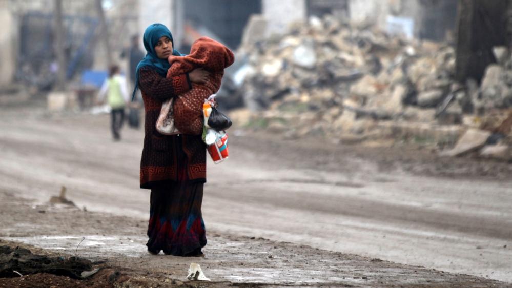 Civilians killed near Damascus