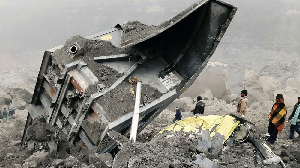 Jharkhand mine collapses:5 bodies recovered, several trapped inside