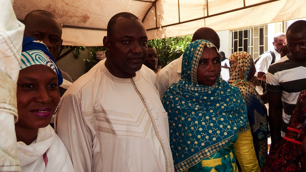 Adama Barrow, who won the election ending 22-year rule of President Yahya Jammeh, vows to introduce two-term limit.