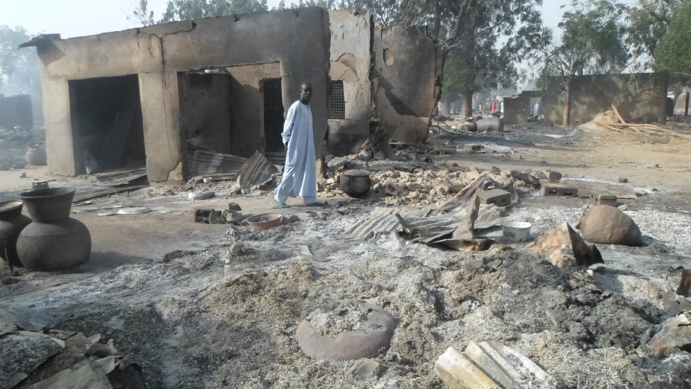 Image result for Nigerian Islamists burning 86 children alive met with Obama silence