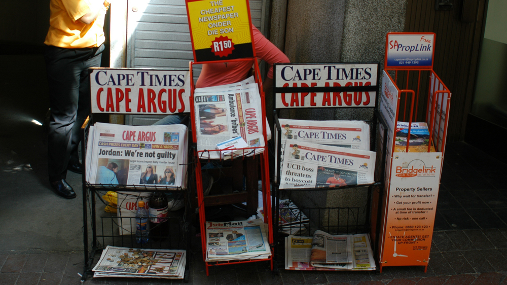 Why is the transformation of South Africa's media still a work in progress two decades after the end of apartheid?