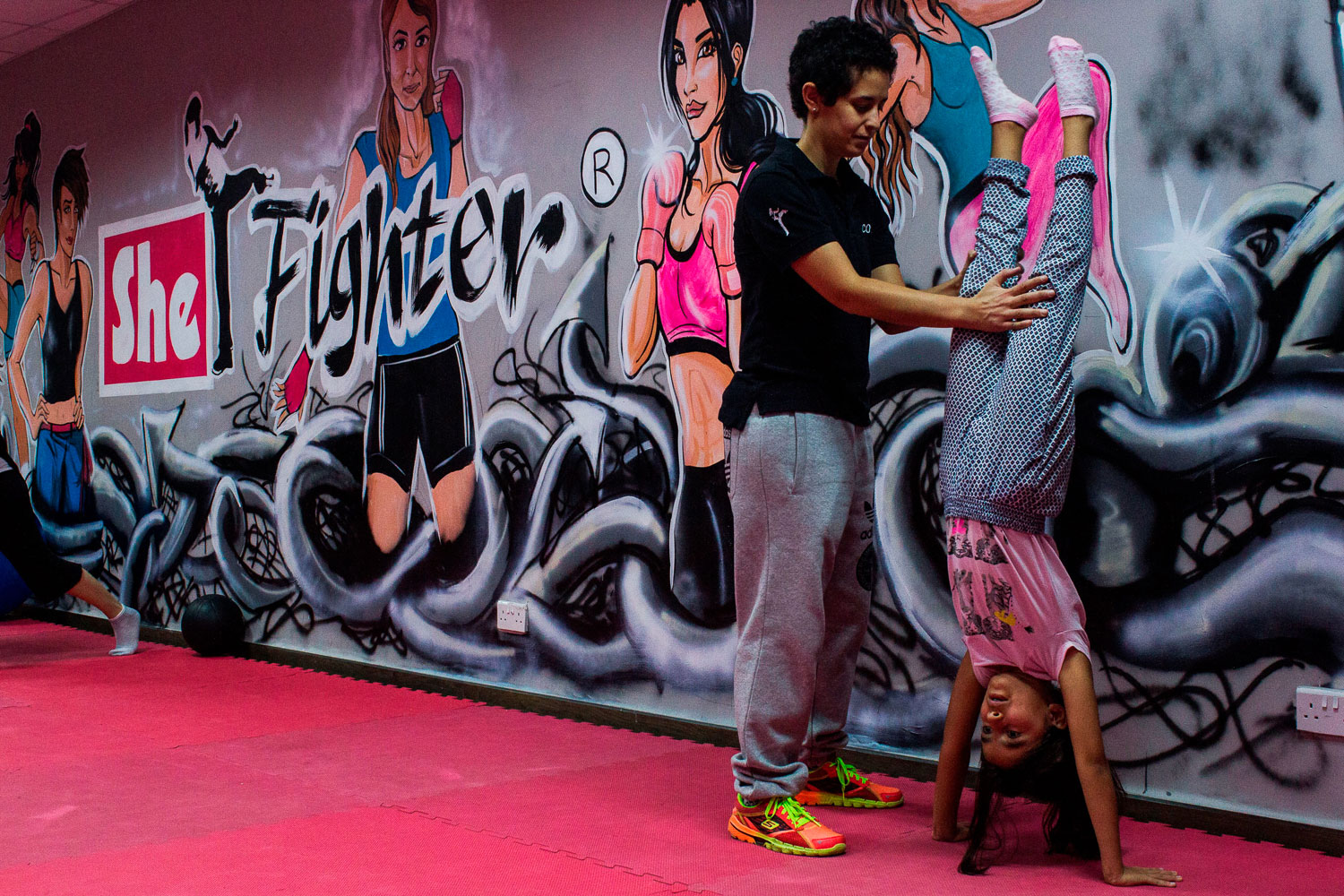 Advanced Courses At Shefighter Include Participants As Young As Six As Well As Older Children