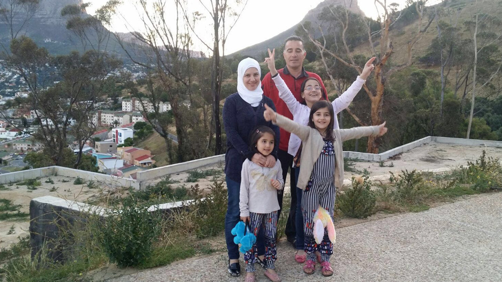 Family, among the few Syrians seeking refuge in Cape Town, sees plight worsen since rejection of asylum case last year.
