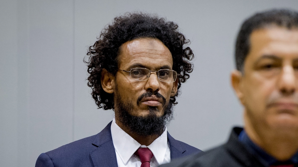 Malian member of al-Qaeda-linked group Ansar al-Dine is accused of being involved in destroying historic Timbuktu sites.