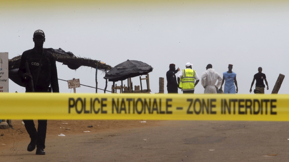 Al-Qaeda branch claims it carried out Sunday's attack, which left 18 dead, as revenge for France's offensive in Sahel.